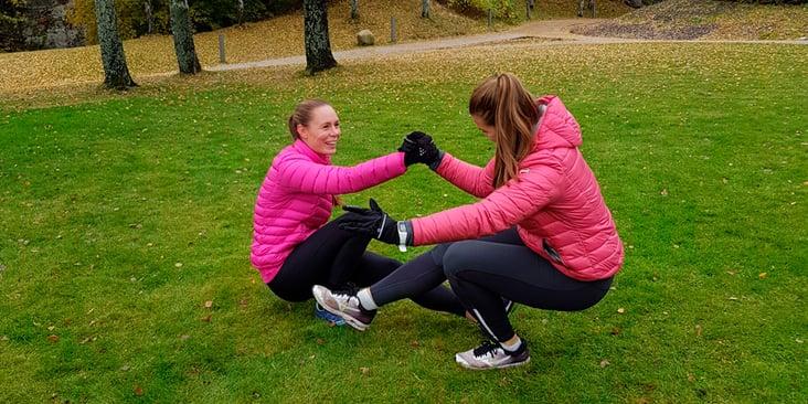 Kristin og Ida, treningstips