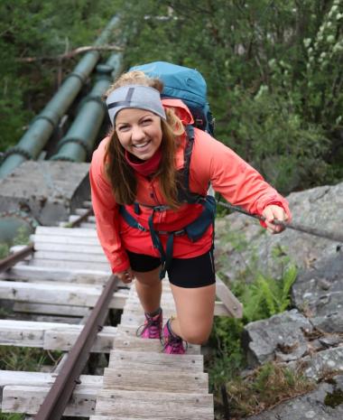 Nina Stensvold treningsreise
