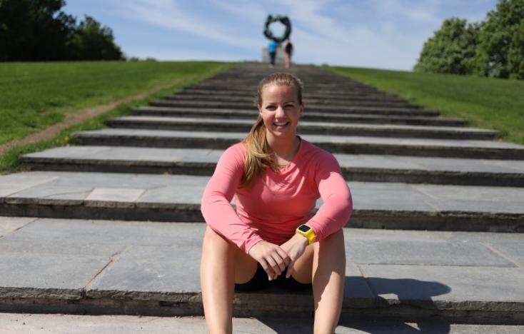 Nina Stensvold treningsreise 1